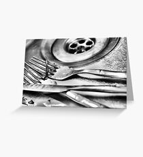 Cutlery Greeting Card