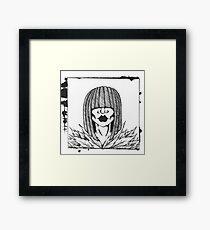 Miss Momo Framed Print