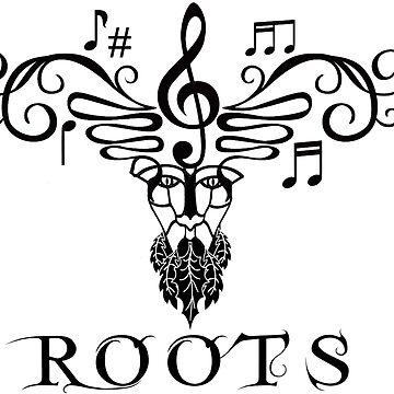 Roots Musical Folk T-shirt by widdershins13