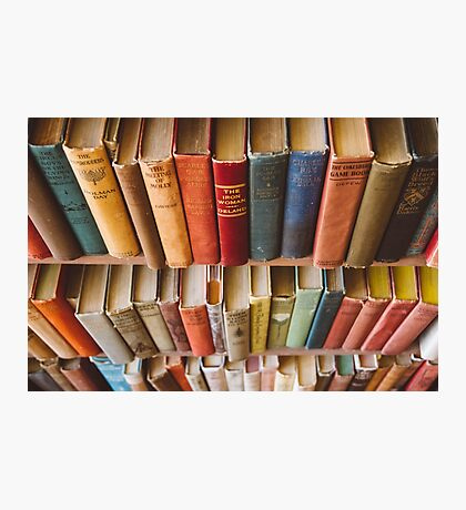 The Colorful Library Photographic Print