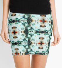 Theatrical geometric girl Mini Skirt