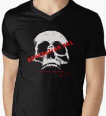 Generation XXL Punk Rock Design Men's V-Neck T-Shirt