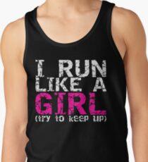 Run Like a Girl Tank Top