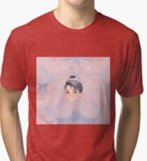 BTS -BS, T Chibi JIMIN with bg Tri-blend T-Shirt