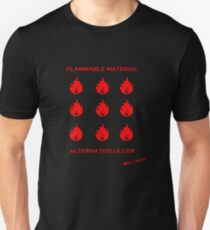 Flammable Material - Alternative Ulcer Slim Fit T-Shirt