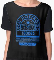 Nostromo Logo - Alien - Prometheus Women's Chiffon Top