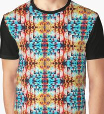 Opposites Paradox Hot n Cold Pattern Graphic T-Shirt