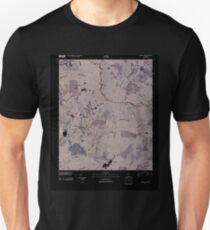 USGS TOPO Map Georgia GA Colemans Lake 20110311 TM Inverted T-Shirt