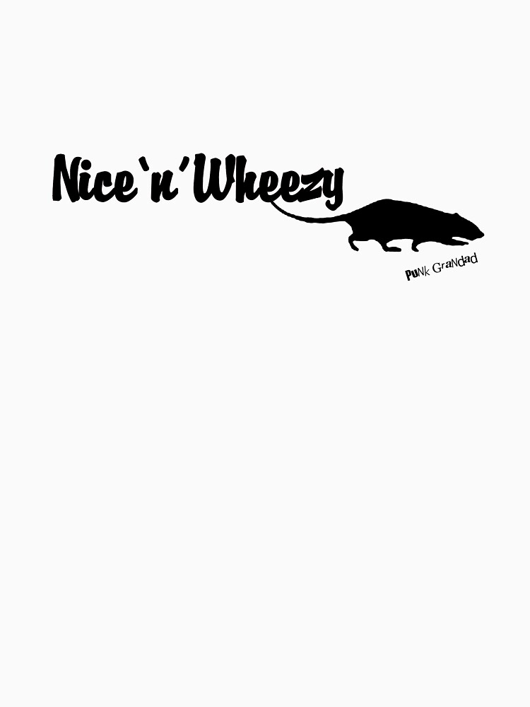 Nice 'n' Wheezy Black Font by PunkGrandad