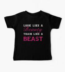 Look Like a Beauty, Train Like a Beast Baby Tee