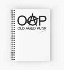 OAP - Old Aged Punk Spiral Notebook