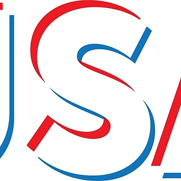USA - Stars and Negative Space by GraphicEddie