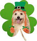 Doggo Stickers: Irish Pupper by Elisecv