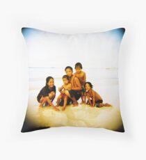 Pinoy Kids Throw Pillow