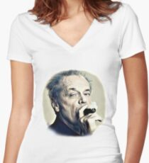 Jack Nicholson Women's Fitted V-Neck T-Shirt