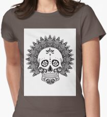 Skulling - Version Blanca Womens Fitted T-Shirt