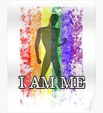 I AM ME - LGBTQ+ Pride Poster