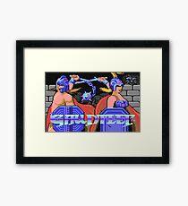 Gauntlet (C64 Title Screen) Framed Print