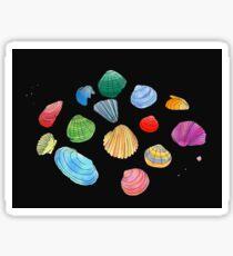 Night Shells Sticker