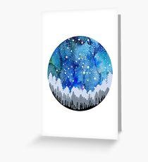 Andromeda Watercolour Constellation Greeting Card
