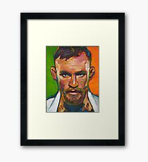 Conor McGregor by Robert Phelps Framed Print