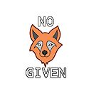«NINGÚN FOX DADO» de Statepallets