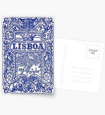 Azulejo Lisbon Azulejos Lisboa Postcards