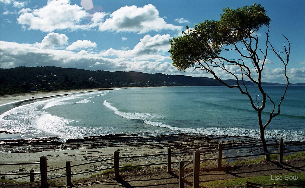 Lorne Beach by Lisa Bow