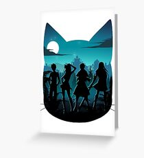 Happy Silhouette Greeting Card