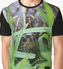 Shy Turtle Graphic T-Shirt