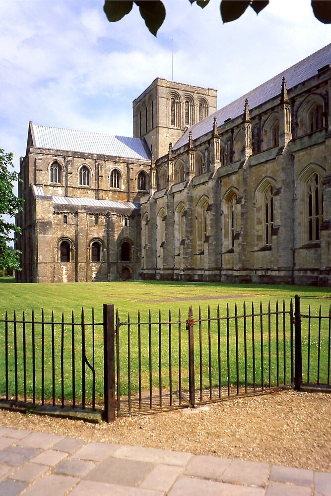 Winchester Cathedral from the South-West by Priscilla Turner