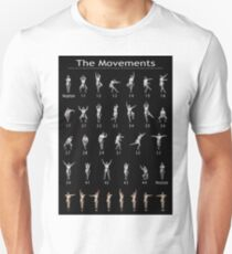 Movements Poster Academy of Ancient Dance Unisex T-Shirt