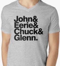 Danzig memember list ampersand shirt Men's V-Neck T-Shirt