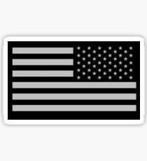 Special Forces, AMERICAN, ARMY, Soldier, American Military, Arm Flag, US Military,  USA, Flag, Reverse side flag, on BLACK Sticker