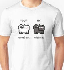 Your Normal Cat, My Ninja Cat T-Shirt