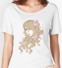 Peony Blossoms Women's Relaxed Fit T-Shirt