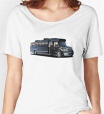 Cartoon Shuttle Bus Women's Relaxed Fit T-Shirt