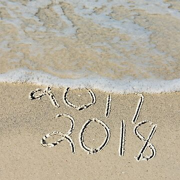 New Year 2018 Beach by 14ktgold