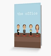 The Office | Vector Art Greeting Card