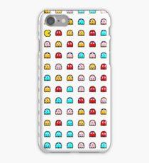 Pac-Man Ghost Pattern  iPhone Case/Skin