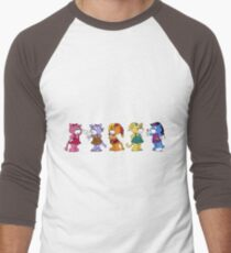 Boomi Cats Men's Baseball ¾ T-Shirt
