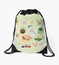 Extra VEGAN za Drawstring Bag