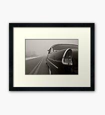 'Into the Fog' Framed Print