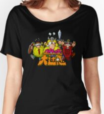 The Lost Vikings (Super Famicom Title Screen) Women's Relaxed Fit T-Shirt
