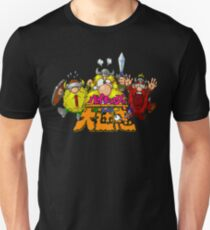The Lost Vikings (Super Famicom Title Screen) Unisex T-Shirt