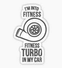 fitness turbo  Sticker