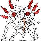 Axylotl by wolfmaskart