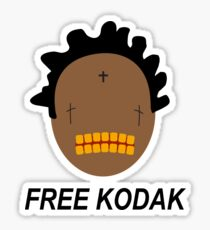 Free Kodak (Kodak Black) Project Baby T-Shirt Sticker