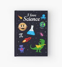 I Love Science Hardcover Journal