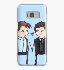 Jack And Ianto Chibis Samsung Galaxy Case/Skin